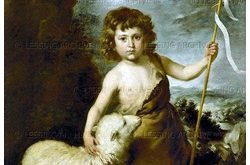 Young John Baptist with the lamb. Canvas, 154 x 108 cm Inv. 282