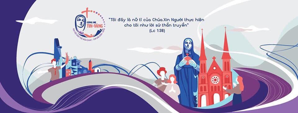 Image result for Đại Hội Giới Trẻ Tổng Giáo Phận Sàigòn 2019